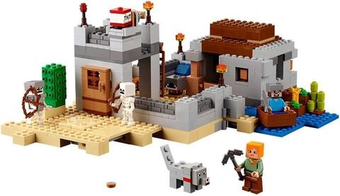 Các mô hình ấn tượng trong bộ Lego Minecraft 21121 - Ốc Đảo Sa Mạc
