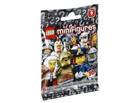 Hình ảnh túi đựng bộ xếp hình Lego Minifigures 71000 - Nhân vật LEGO số 9