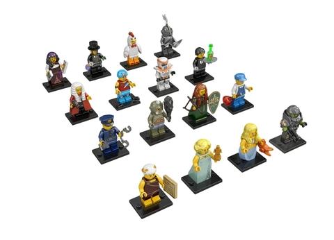 Các nhân vật trong Lego Minifigures 71000