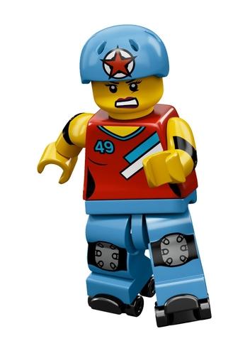 Lego Minifigures 71000 - Nhân vật LEGO số 9 với chất liệu an toàn, thiết kế tỉ mỉ trong từng chi tiết