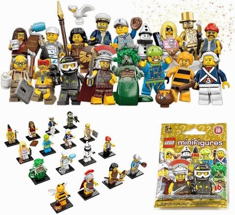 Toàn bộ các chi tiết xuất hiện trong bộ xếp hình Lego Minifigures 71001 - Nhân vật Lego số 10