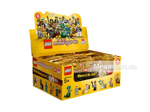 Hình ảnh túi đựng sản phẩm Lego Minifigures 71001 - Nhân vật Lego số 10