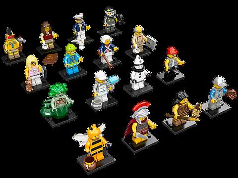 16 mô hình xuất hiện trong Lego Minifigures 71001 - Nhân vật Lego số 10
