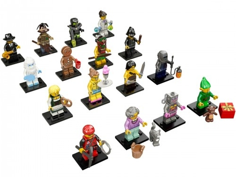 Các nhân vật trong Lego Minifigures 71002