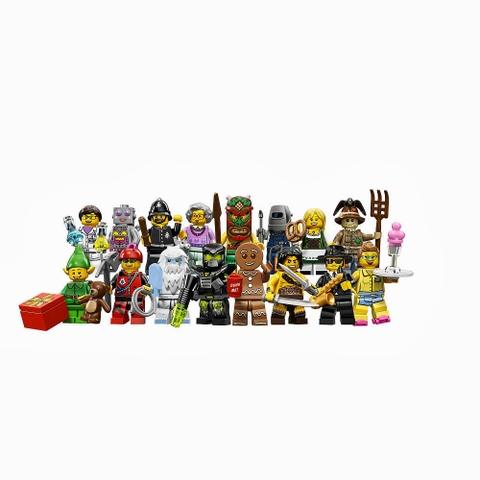 Bộ xếp hình Lego Minifigures 71002 - Nhân vật Lego số 11 được làm từ nhựa tuyệt đối an toàn