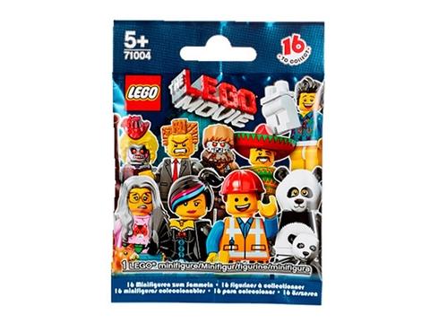 Vỏ đựng thực tế bộ đồ chơi Lego Minifigures 71004 - Nhân Vật Lego The Movie