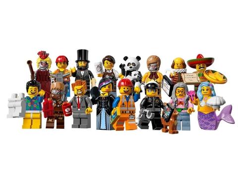 Lego Minifigures 71004 - Nhân Vật Lego The Movie đồ chơi an toàn