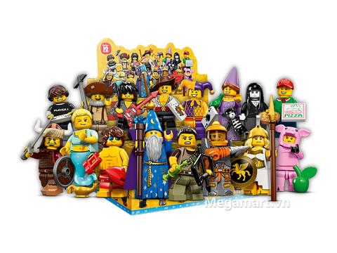 Kích thích trí sáng tảo của trẻ nhỏ với bộ đồ chơi Lego Minifigures 71007- Nhân vật Lego số 12