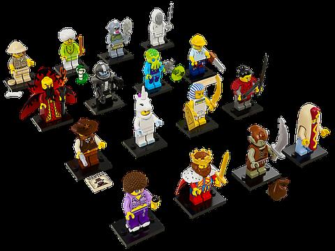 Trọn bộ 16 nhân vật trong bộ Nhân vật LEGOsố 13