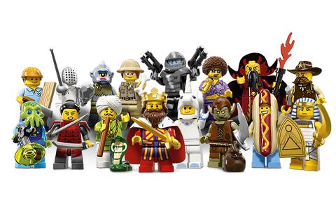 Bộ đồ chơi Lego Minifigures 71008 - Nhân vật LEGO số 13 cho bé tha hồ sáng tạo