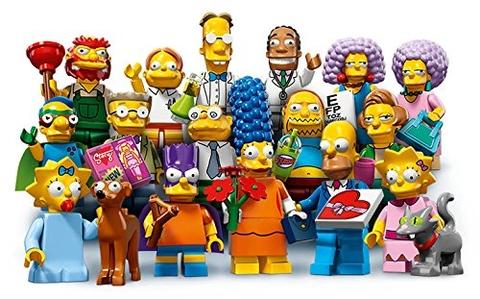 16 Nhân vật trong Lego Minifigures 71009 - Nhân Vật Lego The Simpsons