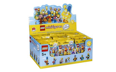 Trọn bộ sản phẩm Lego Minifigures 71009 - Nhân Vật Lego The Simpsons