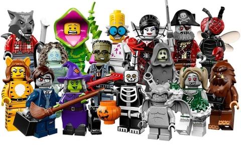 Chủ đềLego Minifiguressố 14 gồm 16 nhân vật chủ đề Haloween