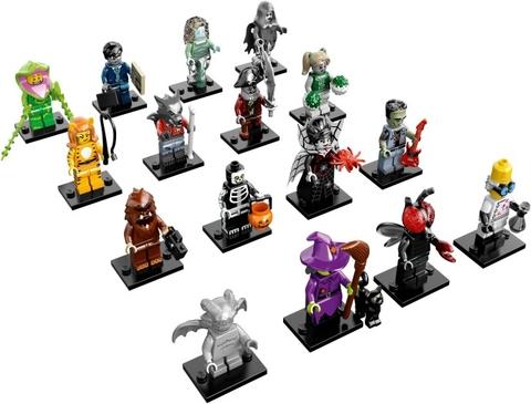 16 nhân vật trong bộ đồ chơi Lego Minifigures 71010 - Nhân Vật Lego số 14 Quái Vật