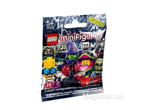 Lego Minifigures 71010 - Nhân Vật Lego số 14 Quái Vật được các bé vô cùng yêu thích