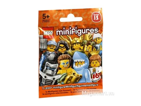 Ảnh bìa sản phẩm Lego Minifigures 71011 - Nhân vật Lego số 15