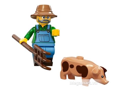 Lego Minifigures 71011 - Nhân vật Lego số 15 - nông dân trong trang trại