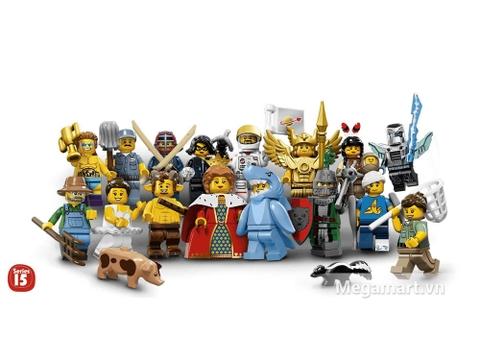 Lego Minifigures 71011 - Nhân vật Lego số 15 - các nhân vật có trong bộ đồ chơi