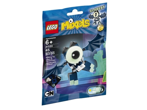Vỏ hộp sản phẩm Lego Mixels 41533 - Sinh Vật Globert