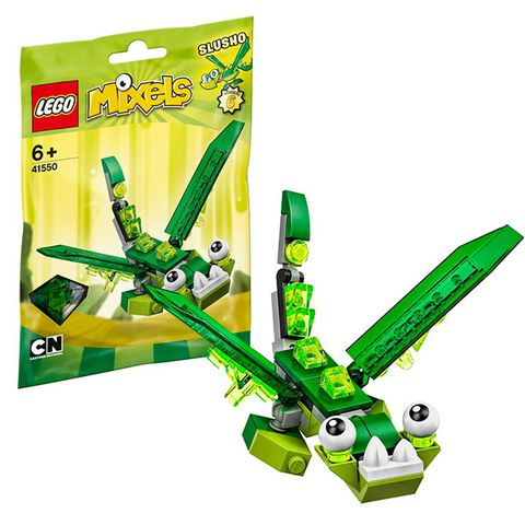 Lego Mixels 41550 - Sinh Vật Slusho - các chi tiết chính