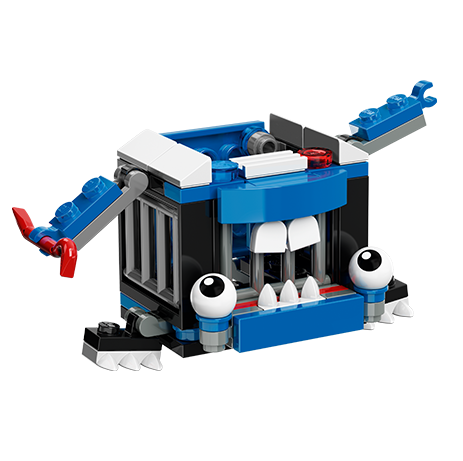 Các chi tiết có trong bộ xếp hình Lego Mixels 41555