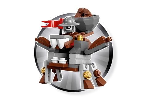 Lego Mixels 41558 - Cỗ Máy Bắn Đá Mixadel với các mảnh ghép chi tiết