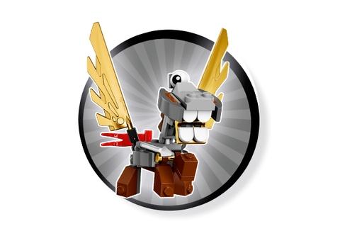 Hình ảnh sản phẩm Lego Mixels 41559- Thiên Lý mã ngốc nghếch Paladum