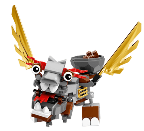 Lego Mixels 41559- Thiên Lý mã ngốc nghếch Paladum có thể kết hợp với các bộ xếp hình khác