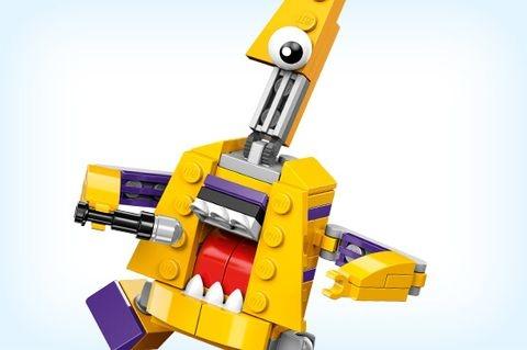 Lego Mixels 41560- Ghita điện Jamzy - người bạn mới của bé
