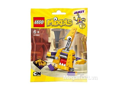 Ảnh bìa sản phẩm Lego Mixels 41560- Ghita điện Jamzy