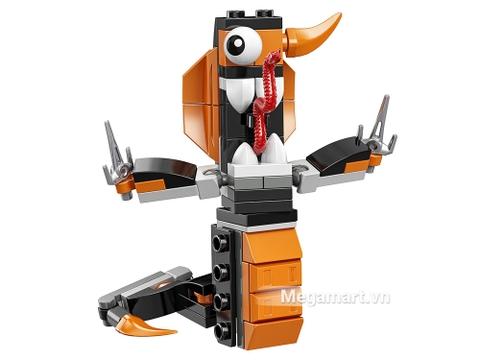 Điểm đặc biệt trong bộ xếp hình chủ đề Lego Mixels 41575 - Ninja mãng xà Cobrax