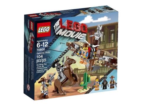 Hình ảnh vỏ hộp sản phẩm Lego Movie 70800 - Tàu Lượn Tẩu Thoát