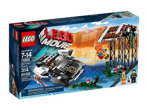 Hình ảnh thực tế sản phẩm Lego Movie 70802 - Xe Cảnh Sát Xấu Xa