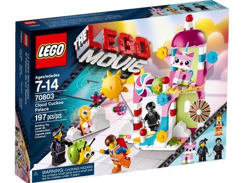 Vỏ hộp đựng bộ xếp hình Lego Movie 70803 - Lâu Đài Cúc Cu Bóng Mây