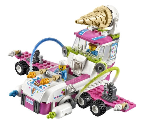 Bộ xếp hình Lego Movie 70804 - Máy Chế Tạo Kem với mô hình độc đáo