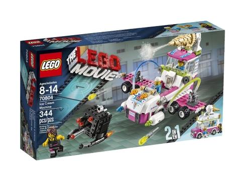 Hình ảnh vỏ hộp đựng bên ngoài Lego Movie 70804 - Máy Chế Tạo Kem