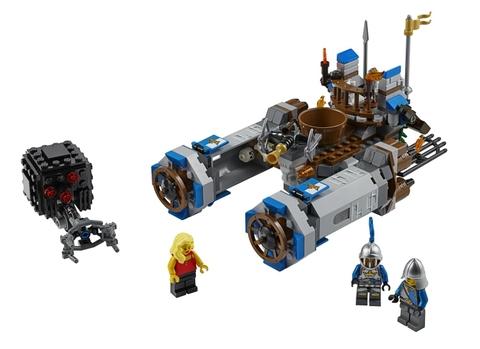 Trọn vẹn các chi tiết có trong bộ xếp hình Lego Movie 70806 - Lâu Đài Kỵ Binh