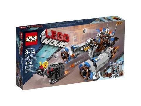Vỏ ngoài bộ đồ chơi Lego Movie 70806 - Lâu Đài Kỵ Binh