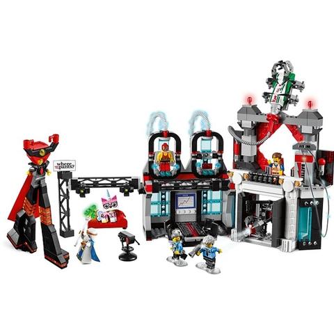 Bộ đồ chơi Lego Movie 70809 - Sào Huyệt Lãnh Chúa Độc Ác giúp phát triển trí tuệ cho bé