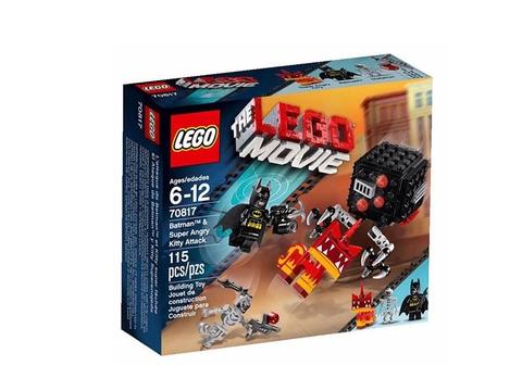 Hình ảnh hộp đựng sản phẩm Lego Movie 70817 – Người dơi và siêu mèo giận dữ tấn công