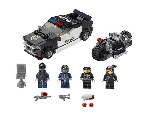 Bộ xếp hình Lego Movie 70819 - Bad Cop Car Chase với nội dung hấp dẫn