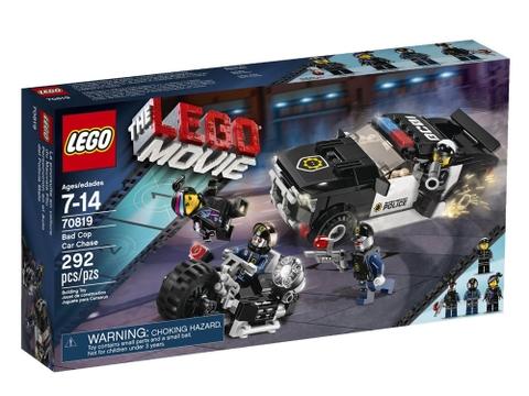 Hình ảnh thực tế vỏ hộp sản phẩm Lego Movie 70819 - Bad Cop Car Chase