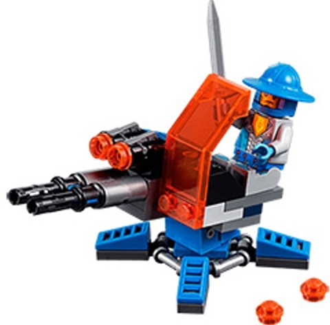 Các chi tiết có trong bộ Lego Nexo Knights 30373 - Súng Đại Bác