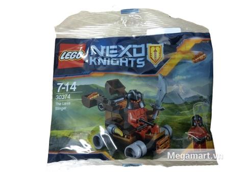 Vỏ sản phẩm Lego Nexo Knights 30374 - Máy Ném Nham Thạch