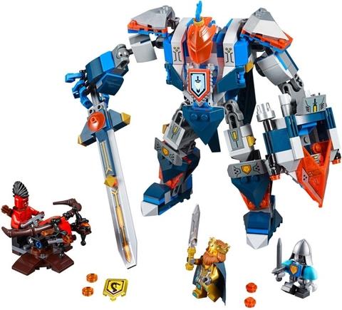 Cuộc chiến hấp dẫn trong Lego Nexo Knights 70327 - Hiệp Sĩ Máy Của Nhà Vua
