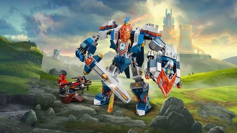 Lego Nexo Knights 70327 - Hiệp Sĩ Máy Của Nhà Vua giúp phát triển kỹ năng tư tuy cho bé