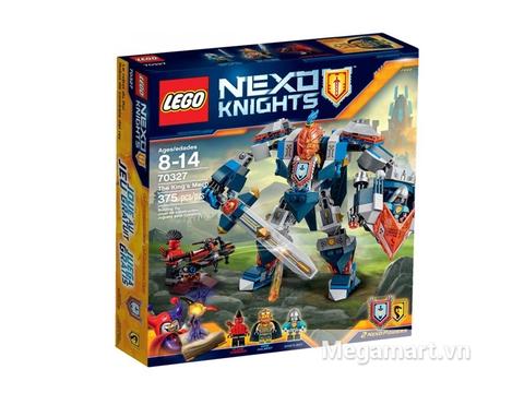 Hộp đựng bộ Lego Nexo Knights 70327 - Hiệp Sĩ Máy Của Nhà Vua
