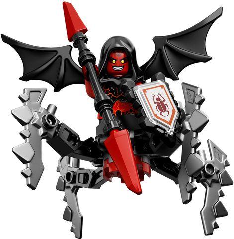 Các chi tiết có trong bộ Lego Nexo Knights 70335 - Quỷ Nham Thạch