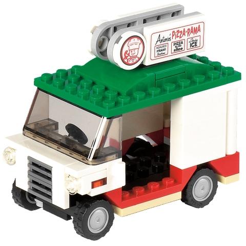 Lego Ninja Turtles 79104 - The Shellraiser Street Chase các chi tiết trong bộ xếp hình