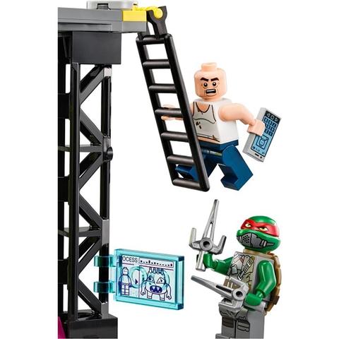 Các nhân vật có trong bộ Lego Ninja Turtles 79119 - Tấn Công Trung Tâm Đột Biến